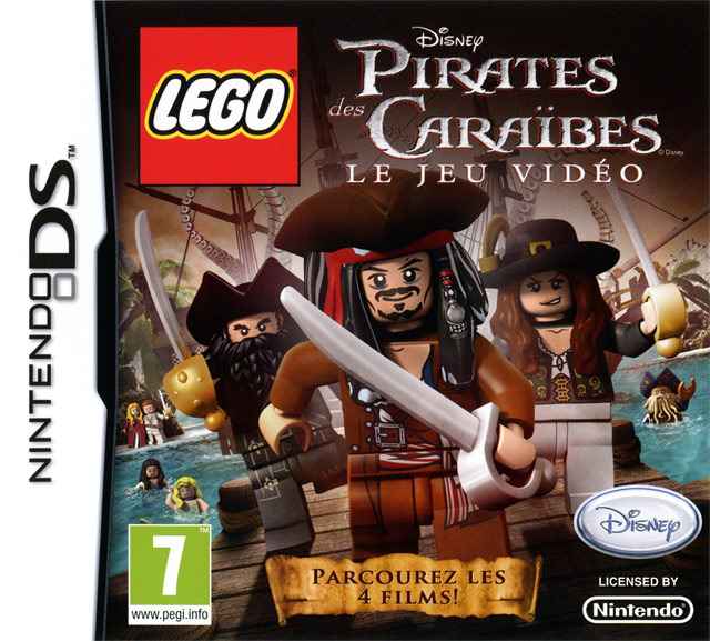 Lego pirates des cara bes le jeu vid o sur nintendo ds - Jeux de lego sur jeux info ...