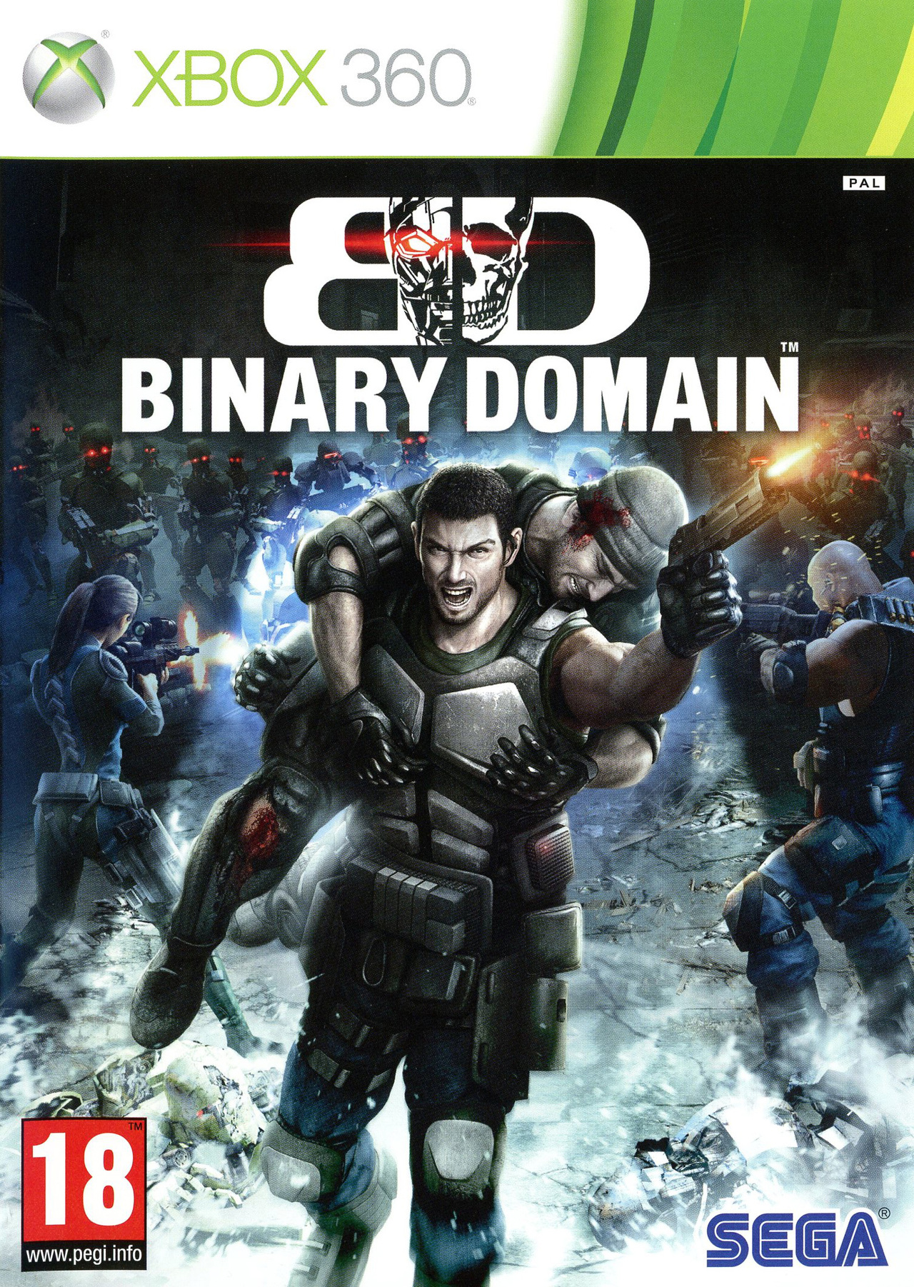 Binary Domain 2012 [PAL] [Xbox 360 l FR] [UL - DF]