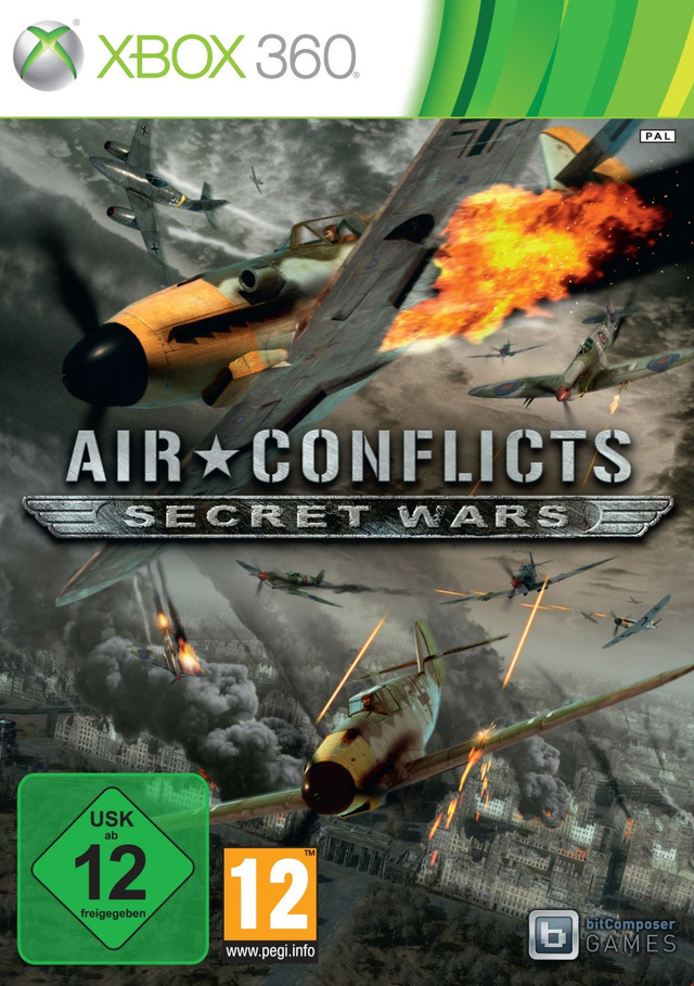 Air Conflicts Secret Wars - XBOX360 [FS] [US](Exclue)