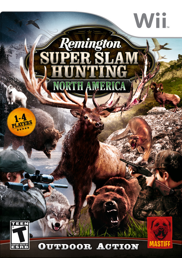 Remington Super Slam Hunting : North America [WII] [UL]