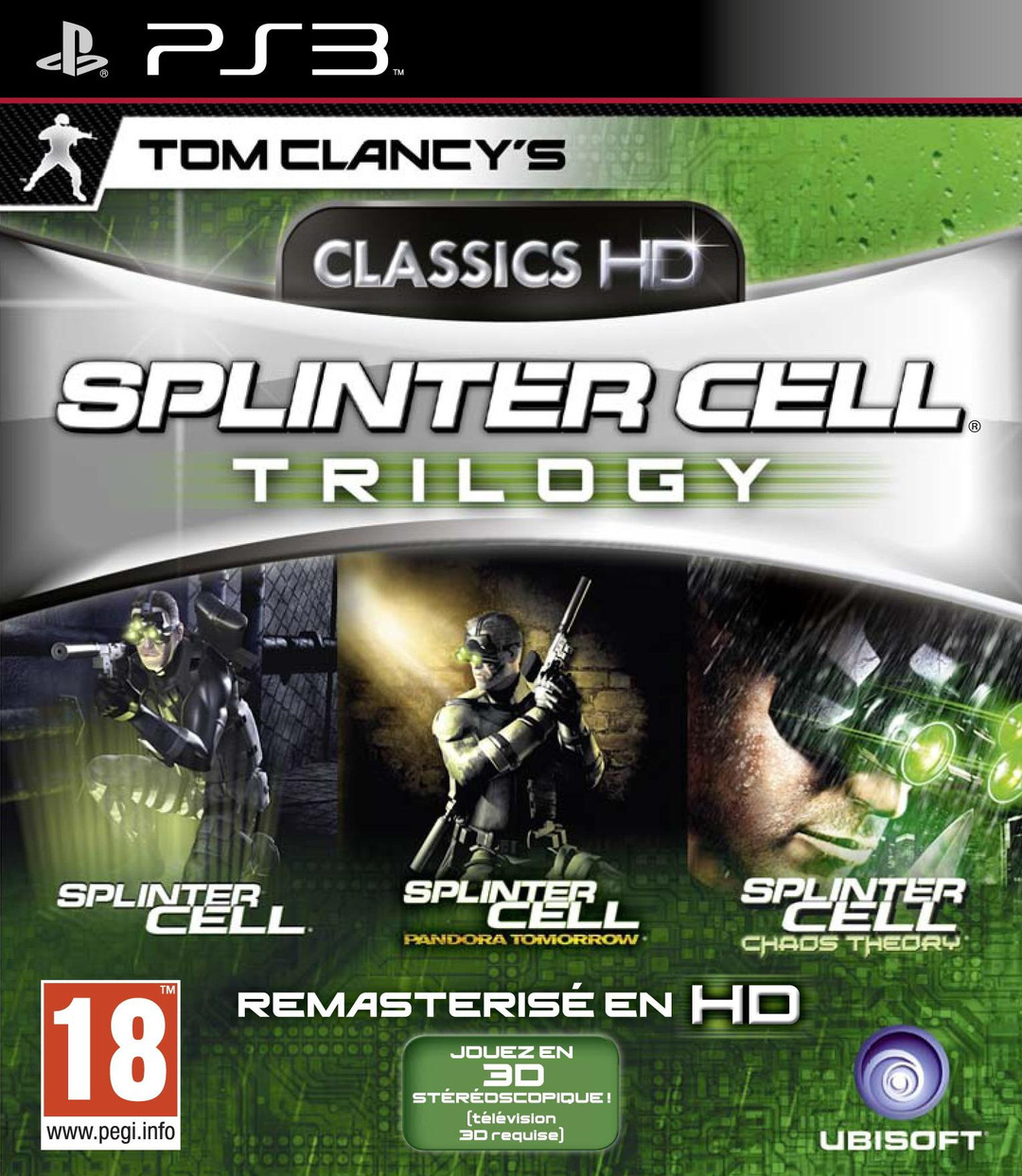 Splinter Cell Trilogy HD - PS3 (Exclue) [FS] [WU]