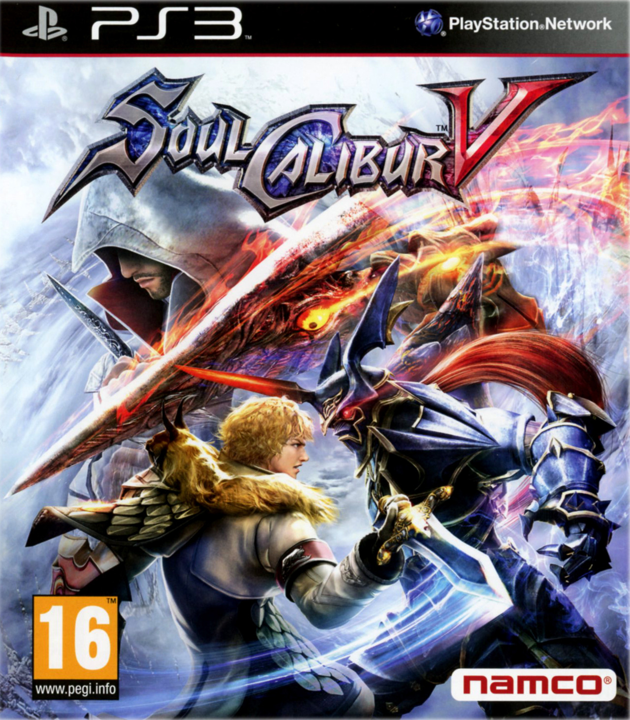 Soul Calibur V cover