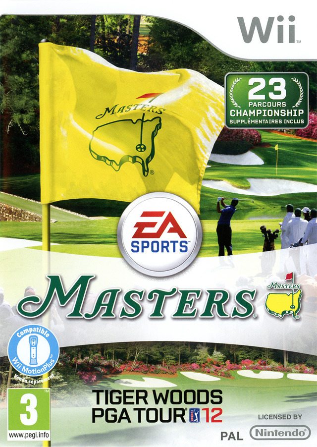 [US][FS]  Tiger Woods PGA Tour 12 : The Masters  (WII)