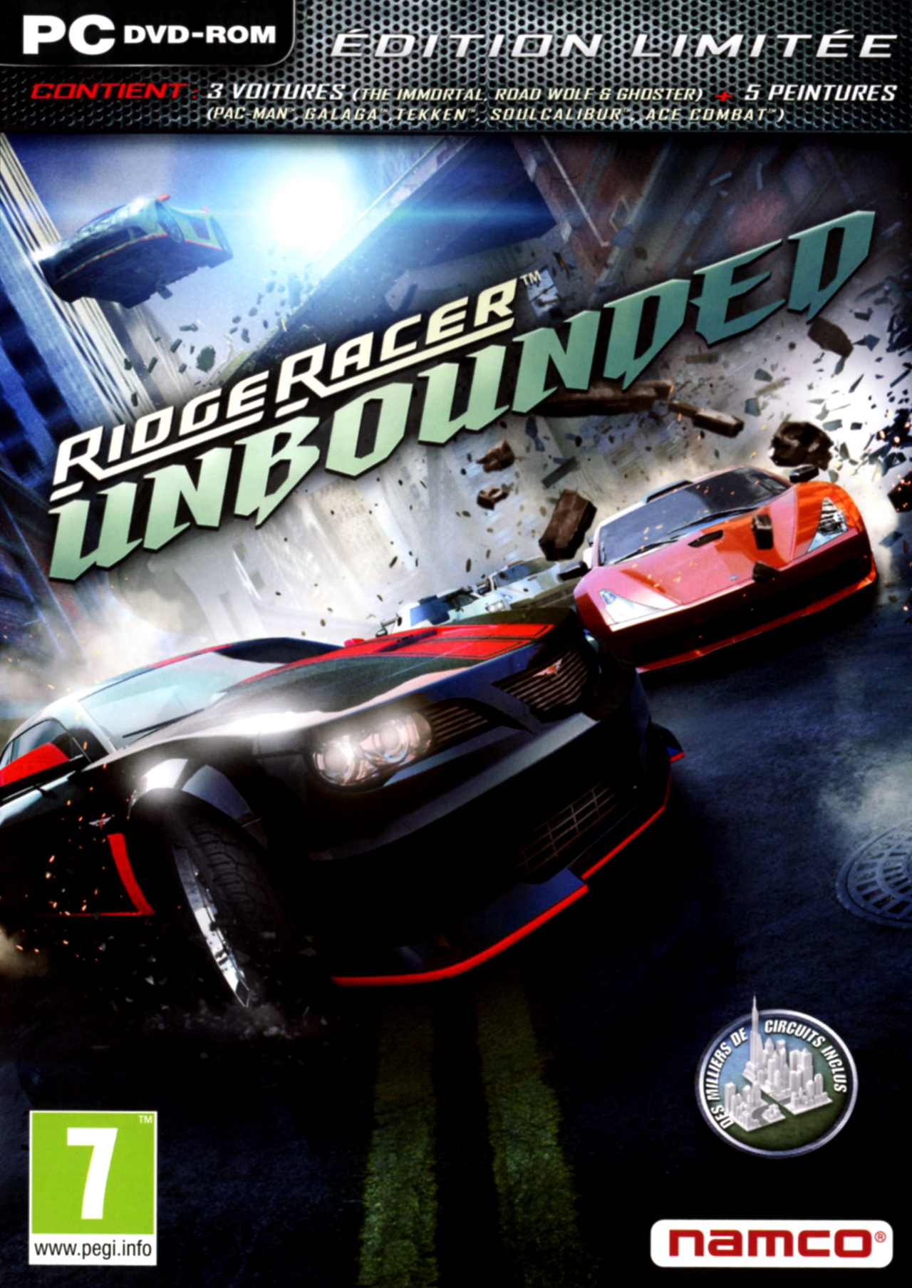 Ridge Racer Unbounded [MULTI] [PC]  (exclue)