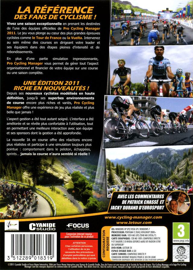 jeuxvideo.com Pro Cycling Manager Saison 2011 - PC Image 2 sur 84
