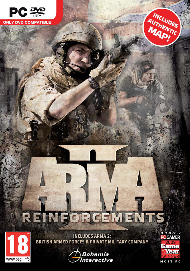 Arma II Reinforcement 2011 [PC] [ISO] [FS] [US] (Exclue)