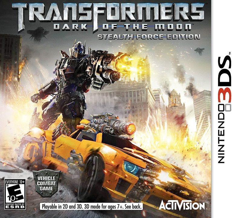 Transformers 3 La Face Cach 233 E De La Lune Sur Nintendo
