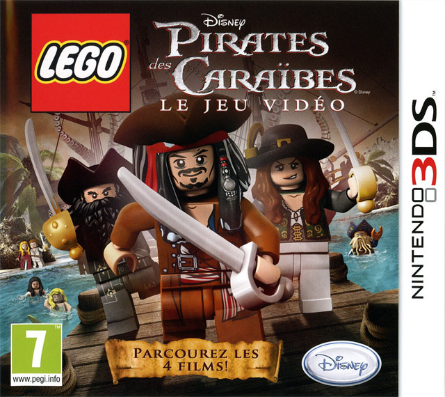 [UP.TO] Lego Pirates des Cara�bes : Le Jeu Vid�o [3DS]