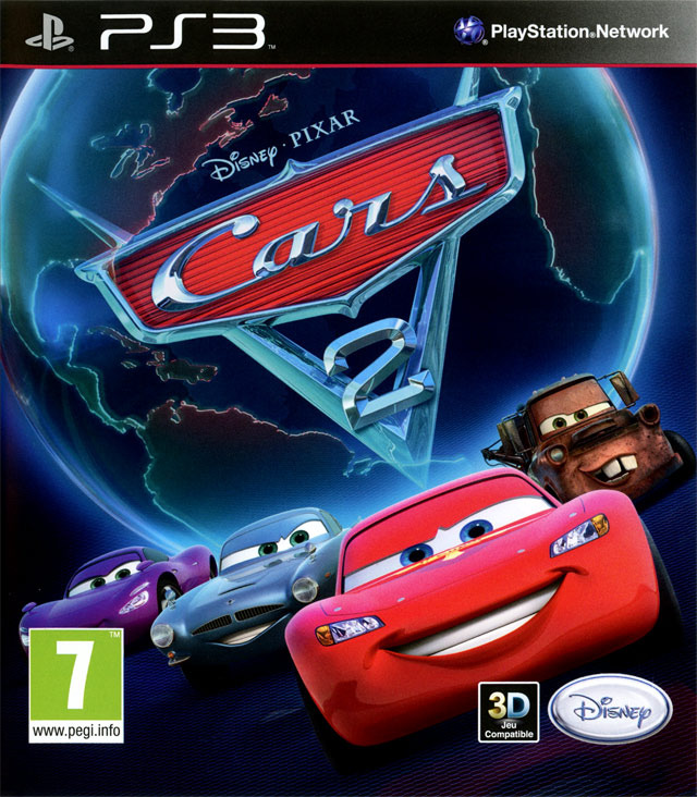 cars 2 sur playstation 3. Black Bedroom Furniture Sets. Home Design Ideas