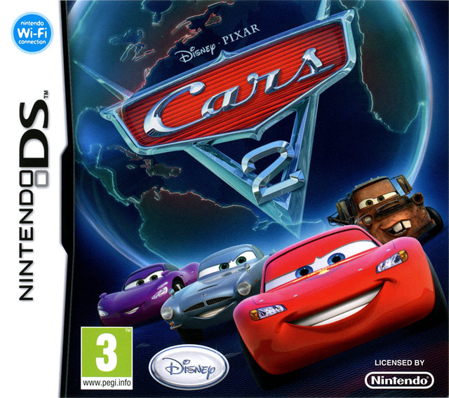 cars 2 sur nintendo ds. Black Bedroom Furniture Sets. Home Design Ideas