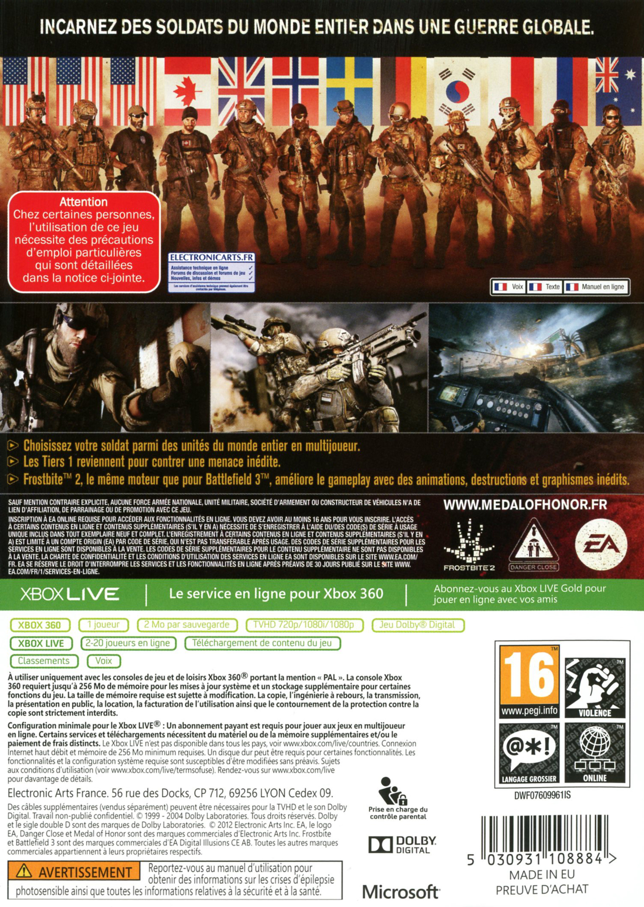 Images Medal of Honor : Warfighter Xbox 360 - 2