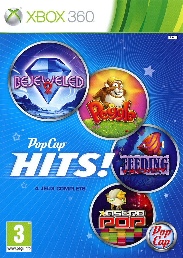 PopCap Hits PAL XBOX360 (exclue) [FS]