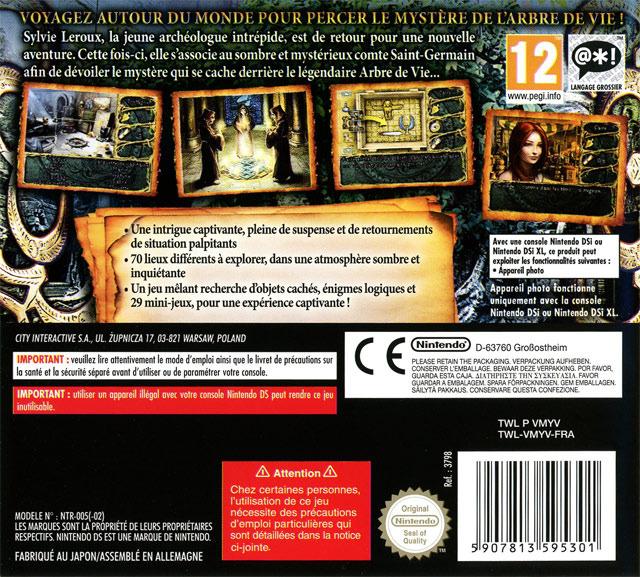 jeuxvideo.com Chronicles of Mystery : L'Arbre de Vie - Nintendo DS