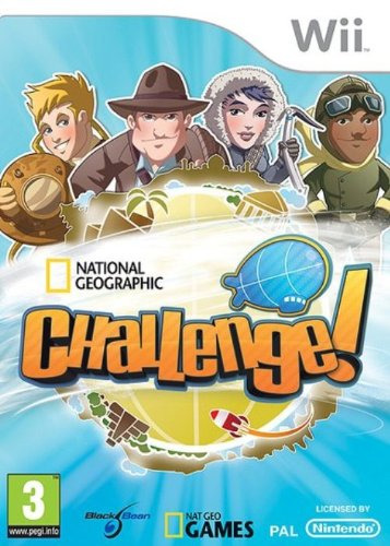 National Geographic Challenge PAL [FR] WII (exclue) [FS]