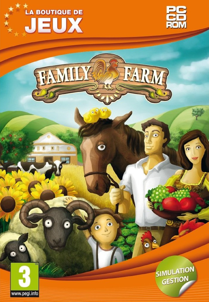 family farm simulator 2011 sur pc. Black Bedroom Furniture Sets. Home Design Ideas
