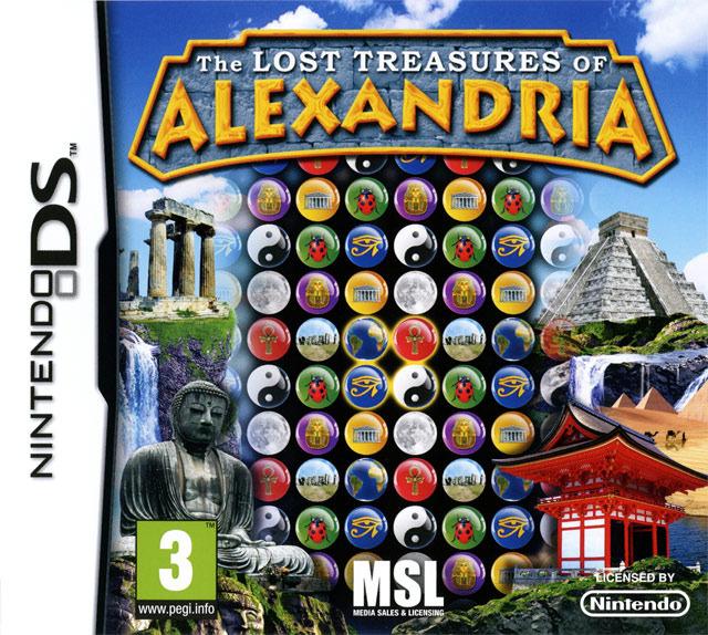 The Lost Treasures of Alexandria EUR [MULTi4] NDS (exclue) [DF]