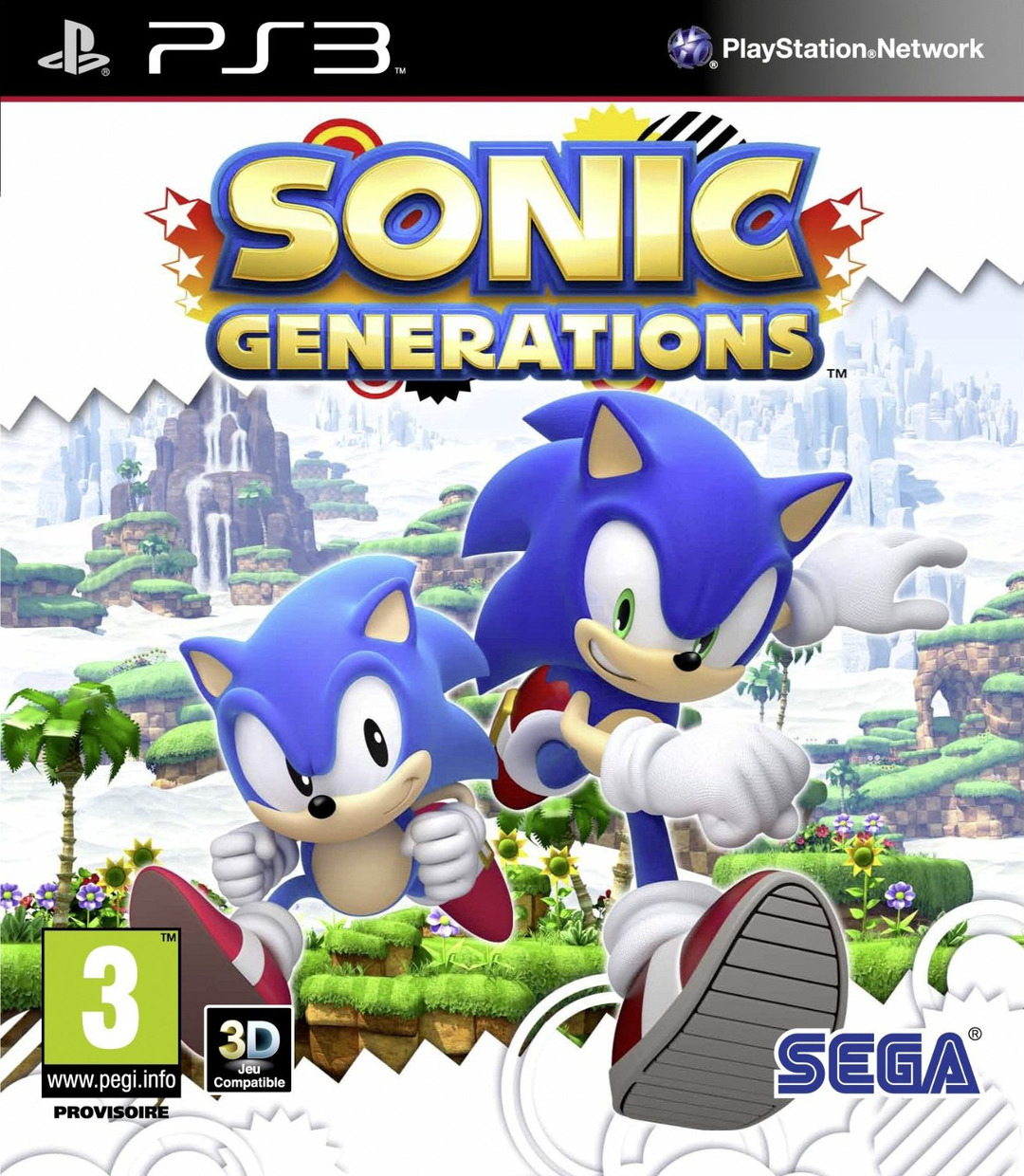 Sonic Games For Ps3 : Sonic generations sur playstation jeuxvideo