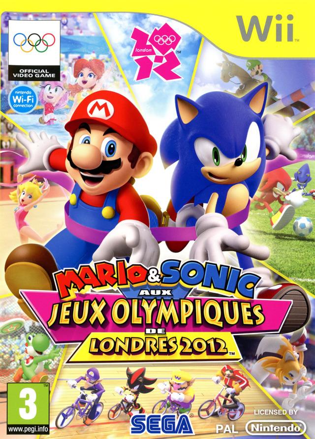 [MULTI] Mario & Sonic aux Jeux Olympiques de Londres 2012 [Wii]