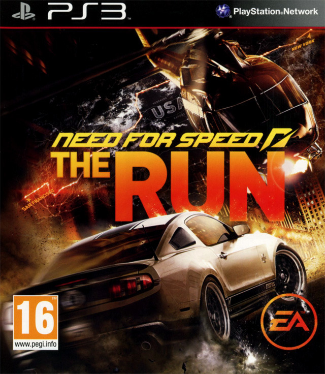 need for speed the run sur playstation 3. Black Bedroom Furniture Sets. Home Design Ideas