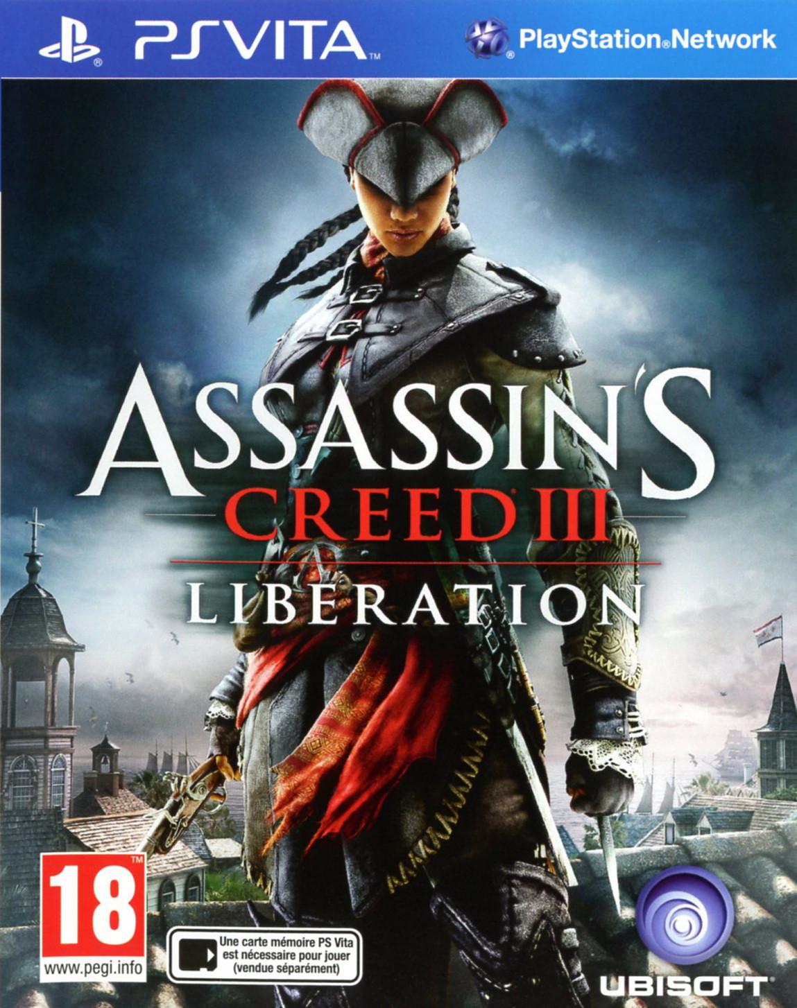 Assassin's Creed III : Liberation sur PlayStation Vita