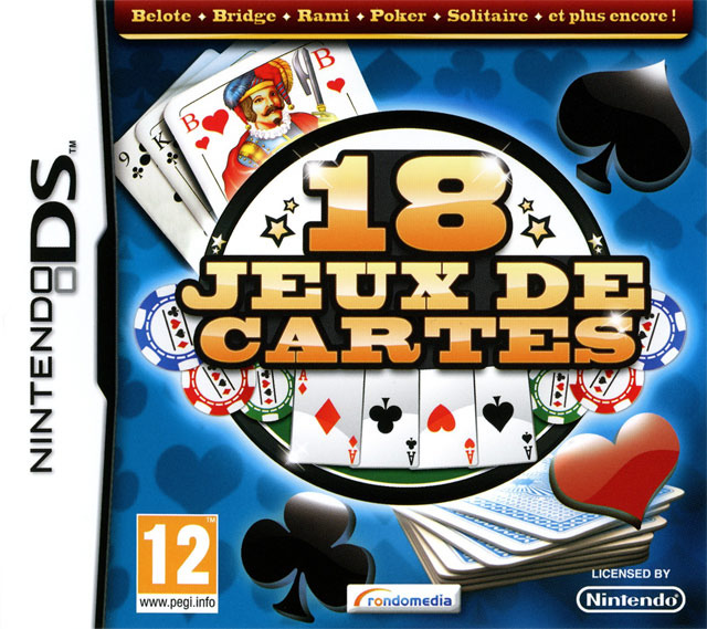 18 jeux de cartes sur nintendo ds. Black Bedroom Furniture Sets. Home Design Ideas