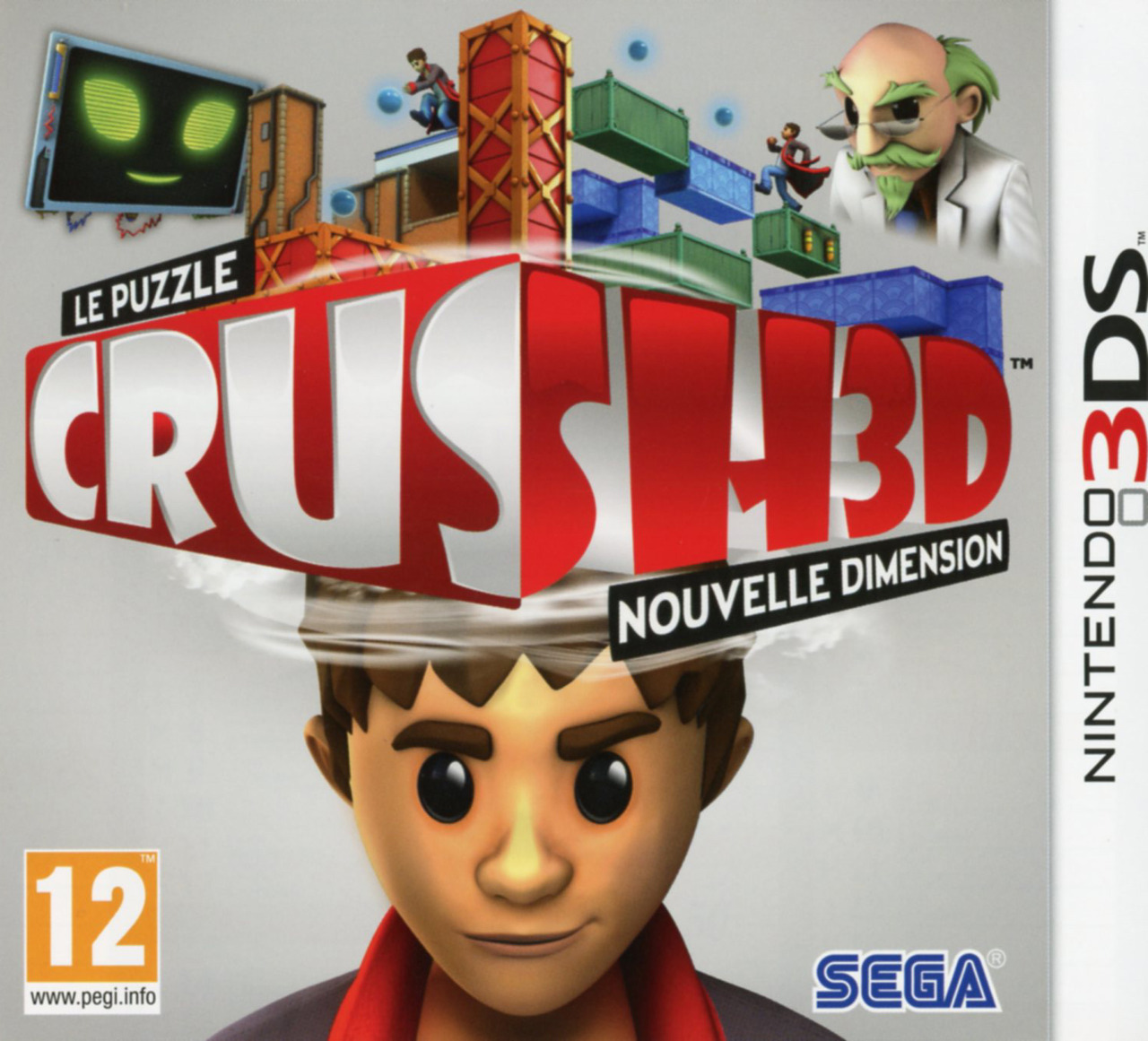 Crush3D [MULTI] [Nintendo 3DS]