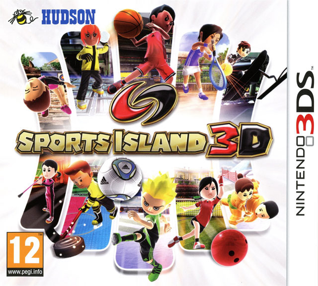 sports island 3d sur nintendo 3ds. Black Bedroom Furniture Sets. Home Design Ideas