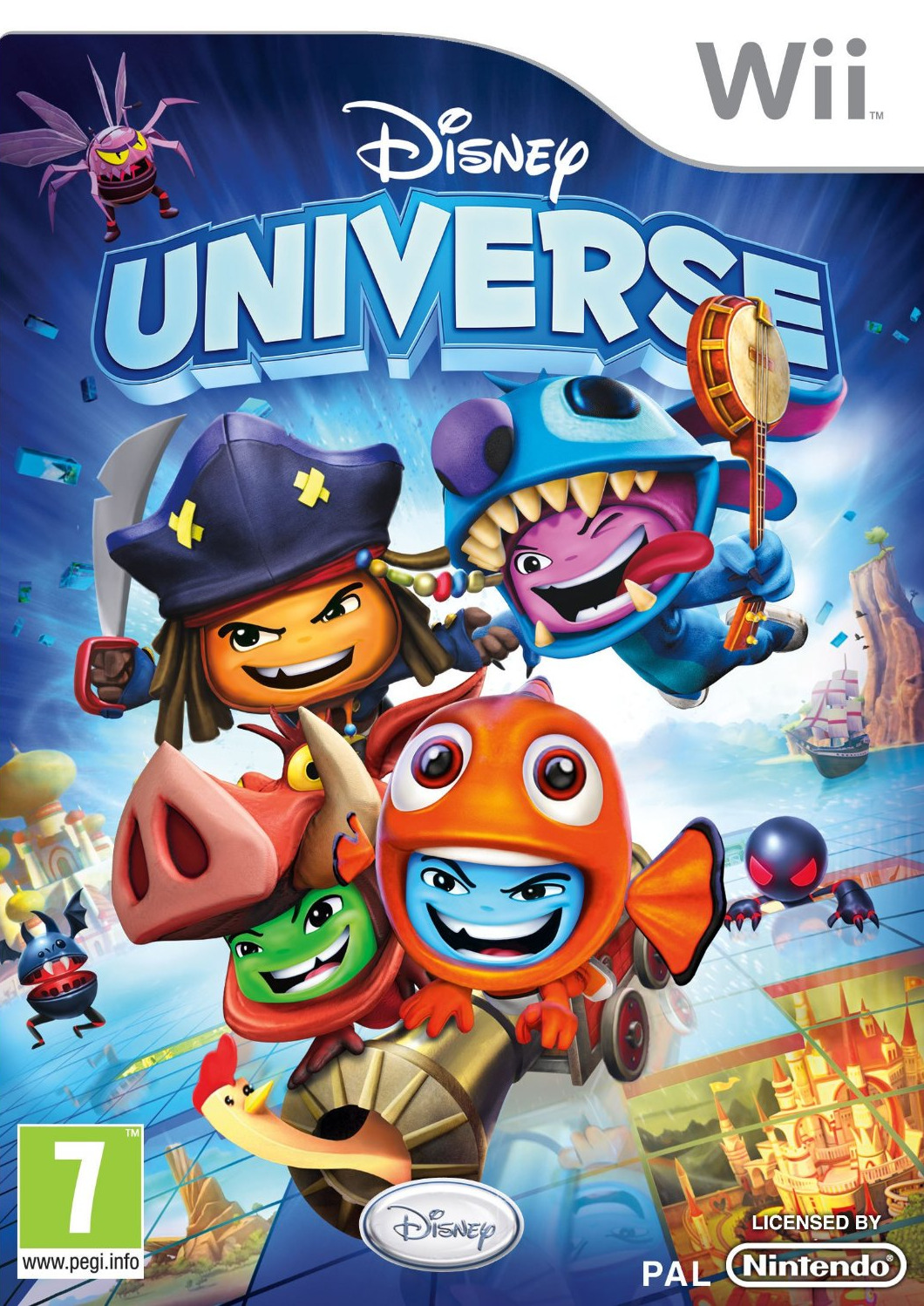 Disney Universe PAL WII [FRENCH] [MULTI5] (exclue) [FS]