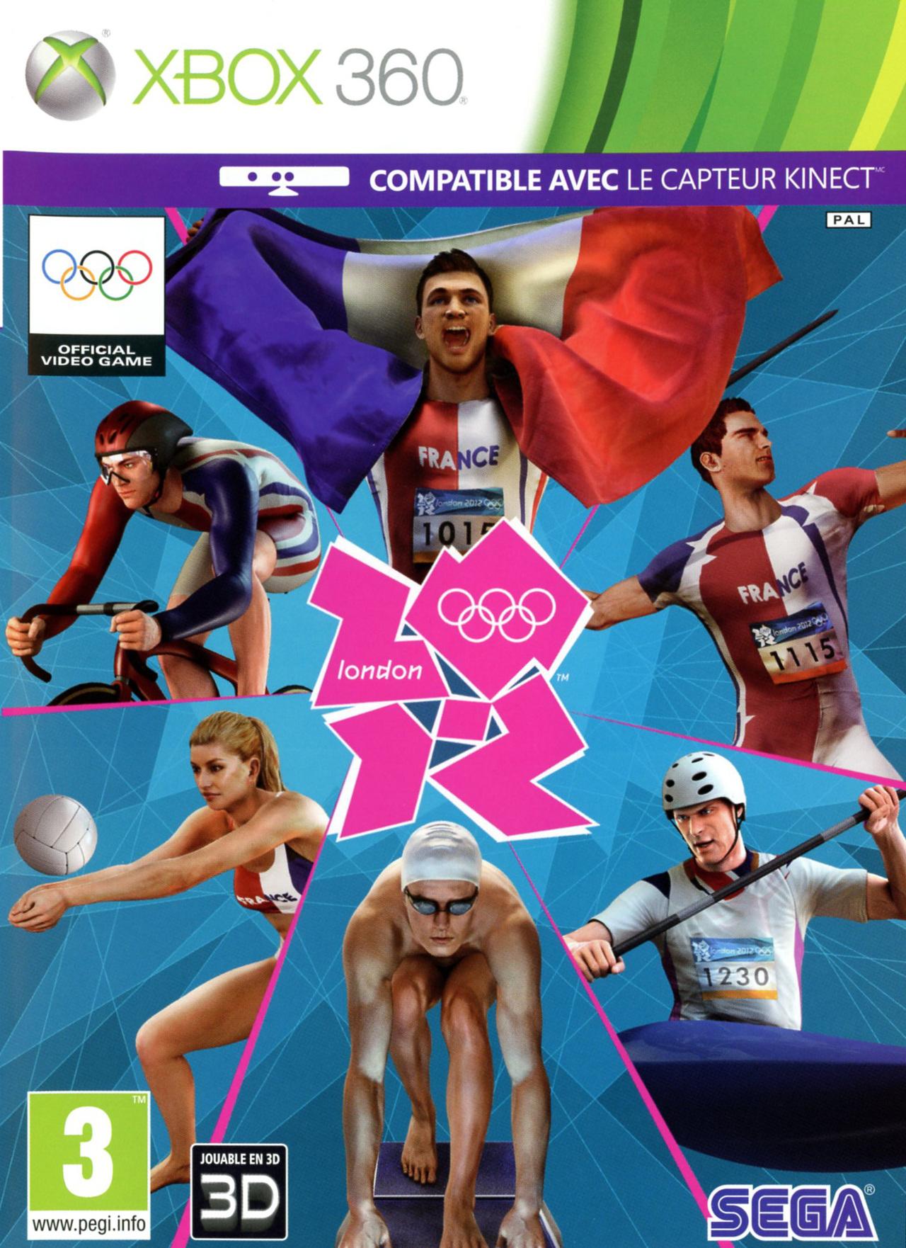 londres 2012 le jeu officiel des jeux olympiques sur xbox 360. Black Bedroom Furniture Sets. Home Design Ideas