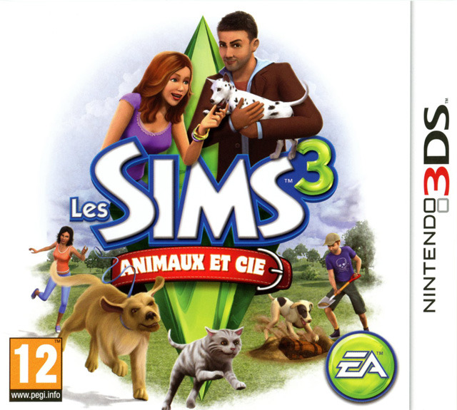 les sims 3 animaux cie sur nintendo 3ds. Black Bedroom Furniture Sets. Home Design Ideas