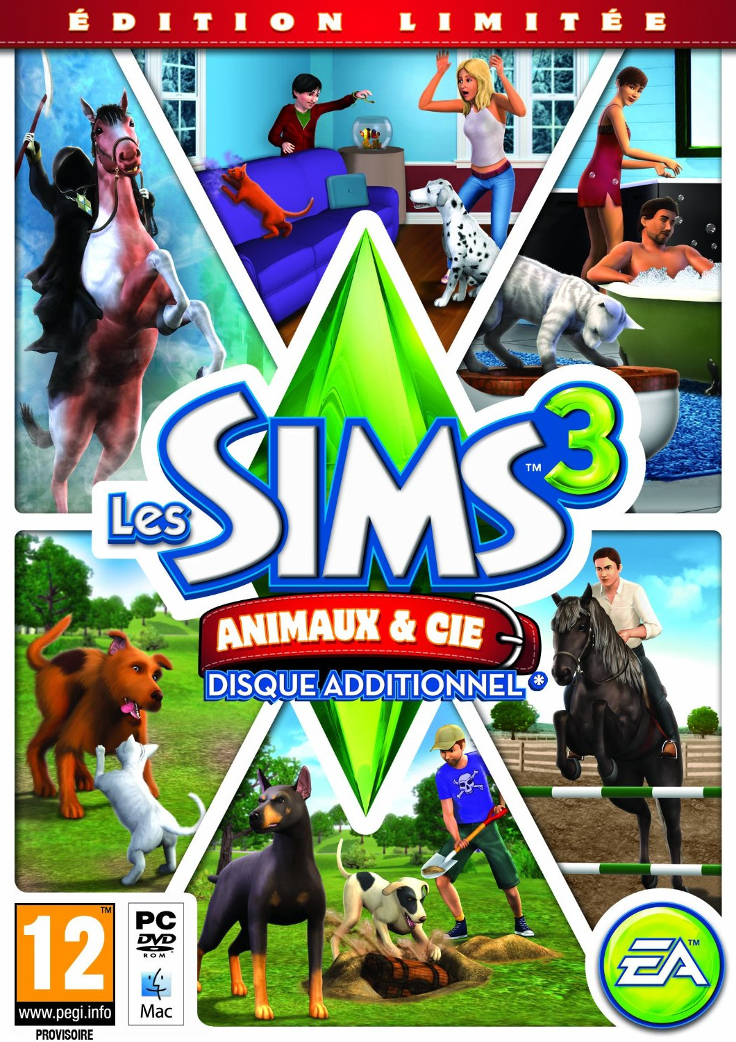 [FS] Les Sims 3 : Animaux & Cie [PC | ISO]