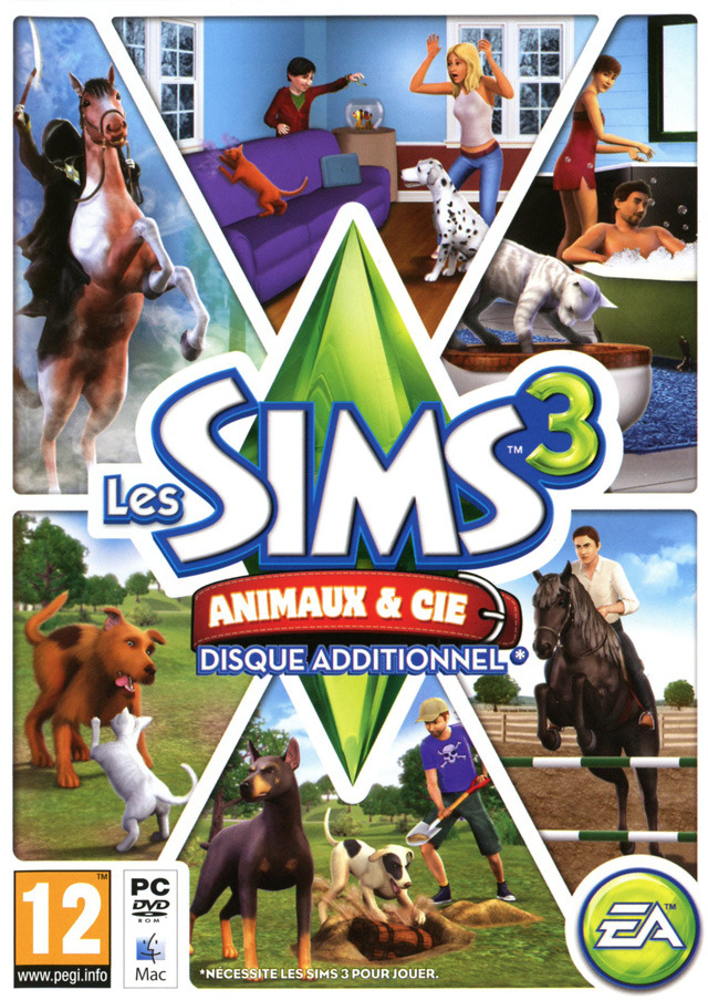 Les Sims 3 : Animaux & Cie [PC] [EXCLUE]