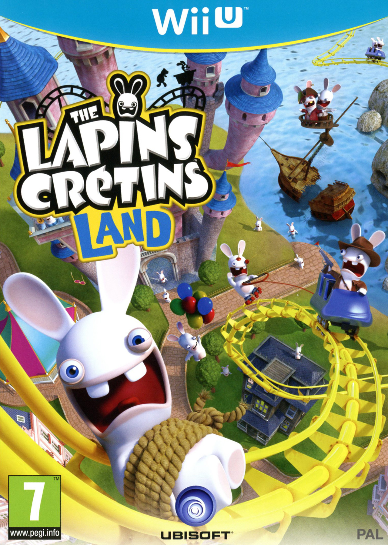 The Lapins Cretins Land Sur Wii U Jeuxvideo Com
