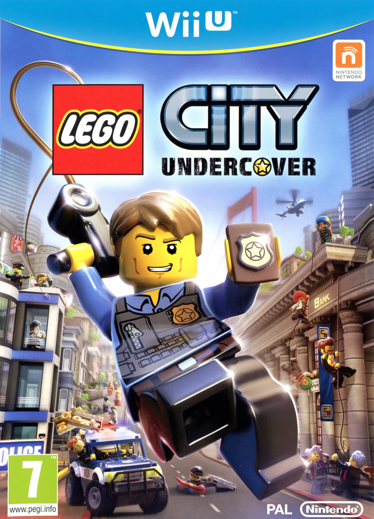lego city undercover sur wii u. Black Bedroom Furniture Sets. Home Design Ideas