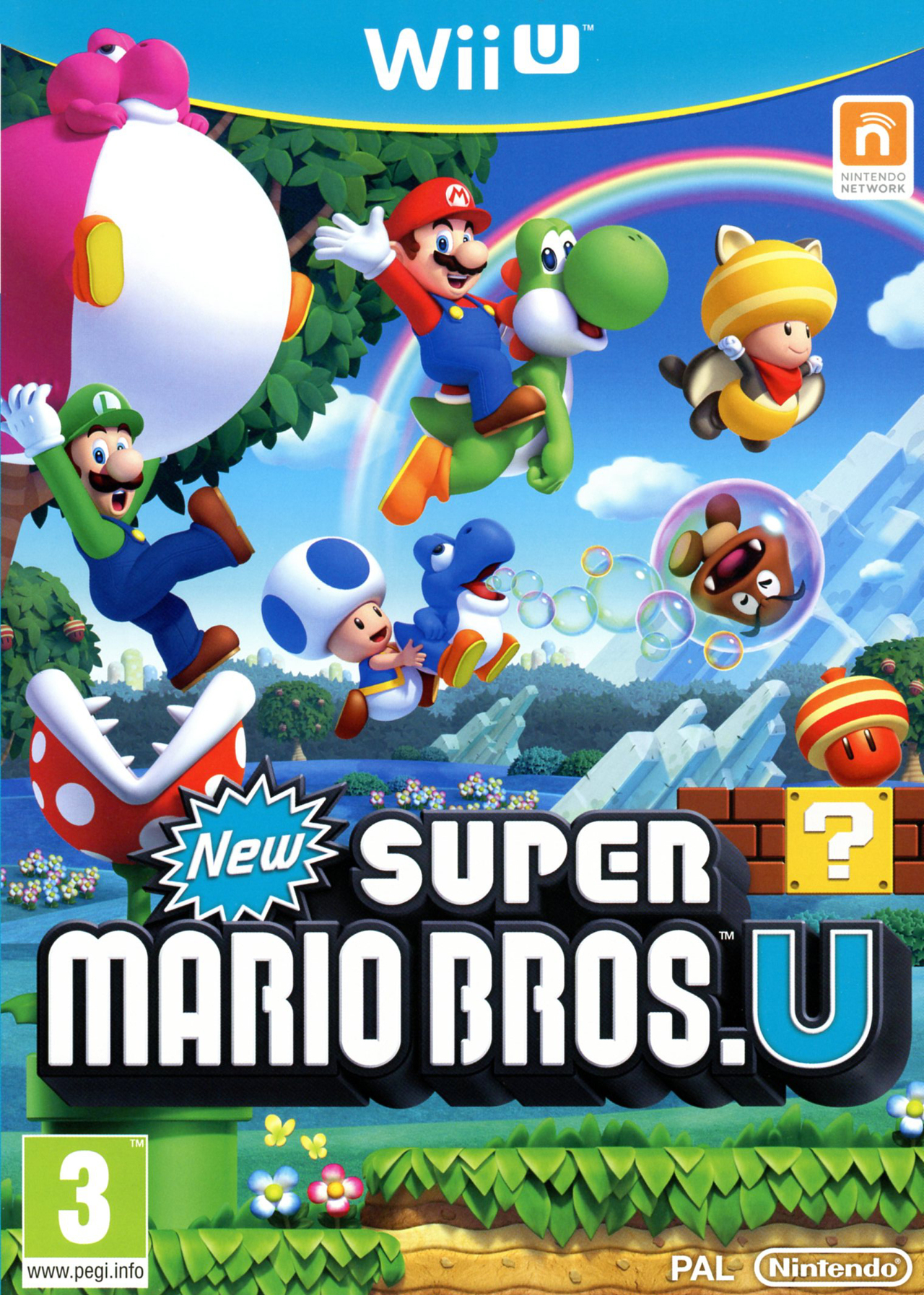 Mario Wii U Games : New super mario bros u sur wii jeuxvideo