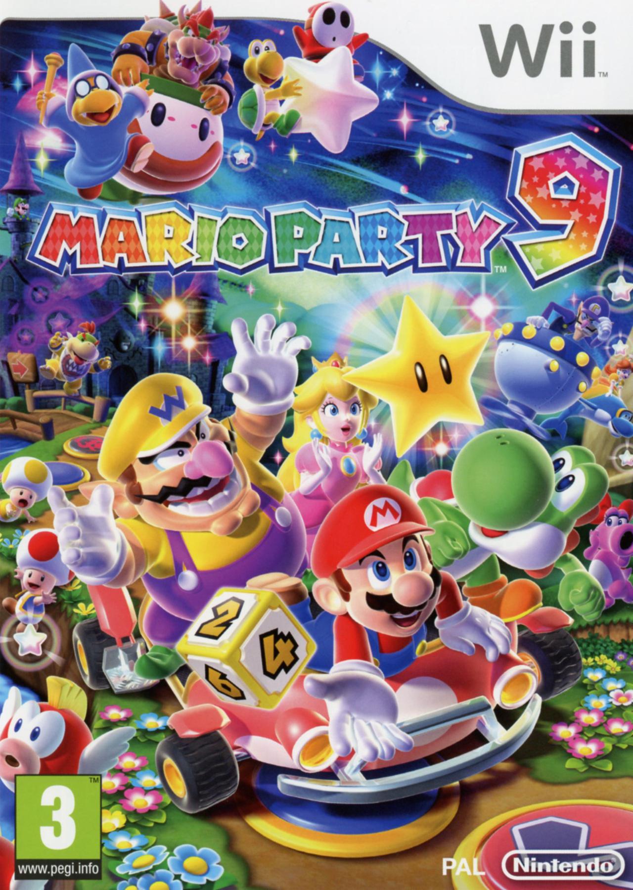 Mario Party 9  [Wii l FR] [UL]