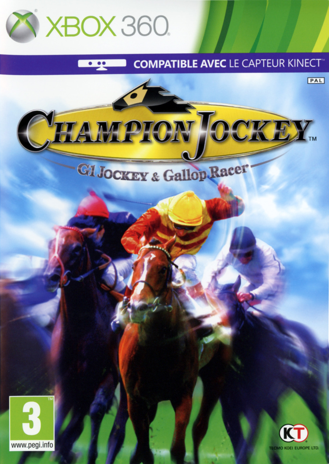 champion jockey g1 jockey gallop racer sur xbox 360. Black Bedroom Furniture Sets. Home Design Ideas