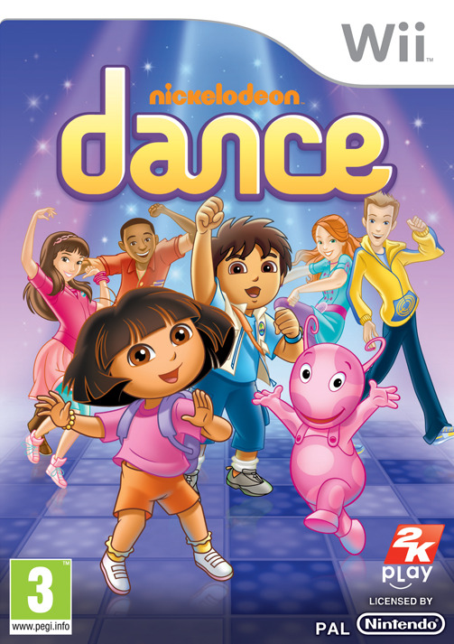 Nickelodeon Dance PAL WII (exclue) [MULTI]