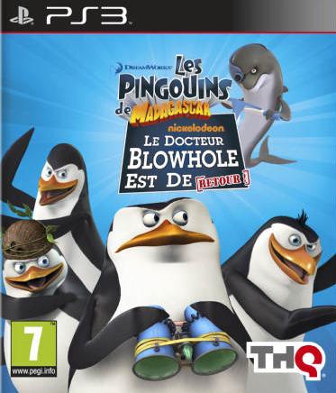 Les Pingouins de Madagascar : Le Docteur Blowhole est de Retour [Wii