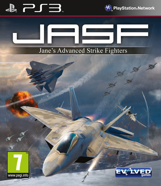 Janes Advanced Strike Fighters PS3 [DF]