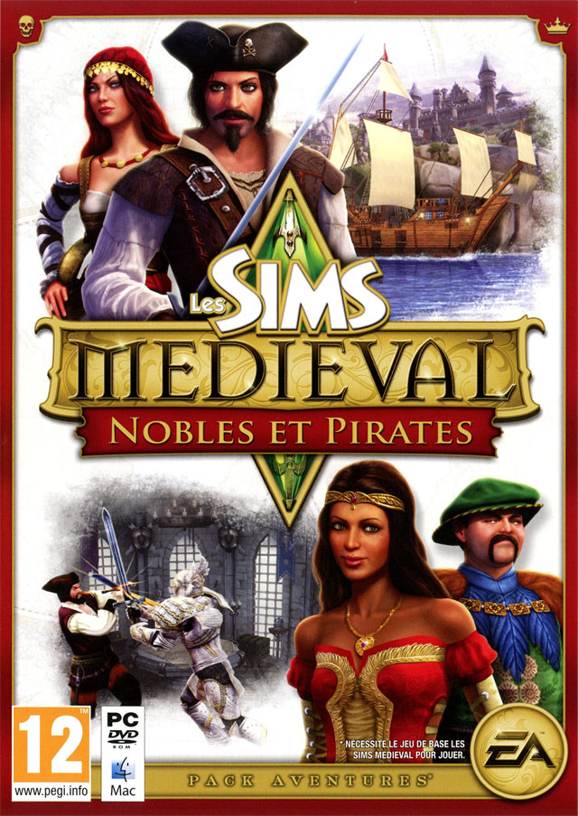 les sims medieval nobles pirates sur pc. Black Bedroom Furniture Sets. Home Design Ideas
