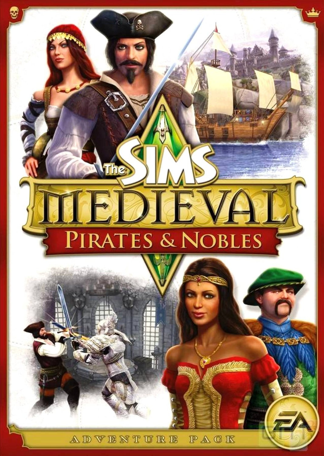 Les Sims Medieval : Nobles & Pirates