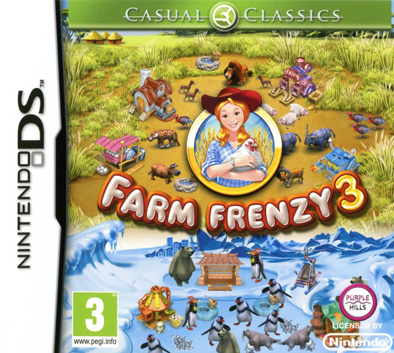 jeuxvideo.com Farm Frenzy 3 - Nintendo DS Image 1 sur 31