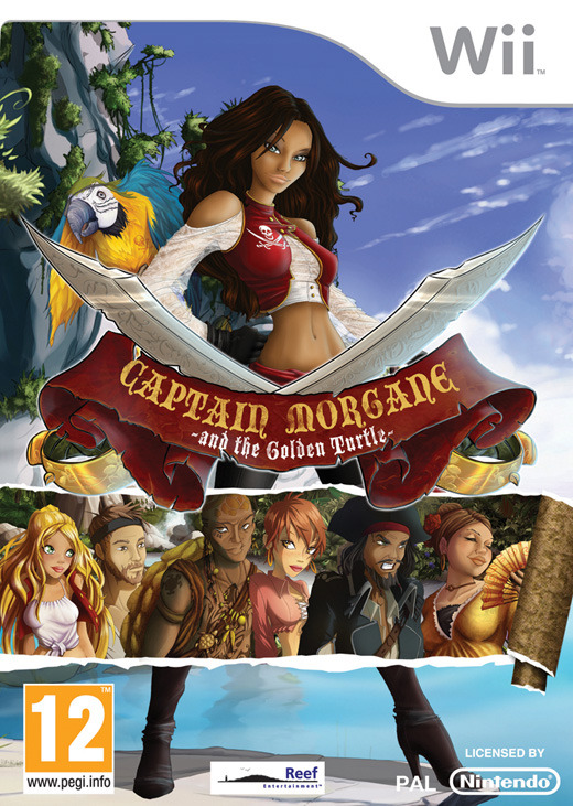 Captain Morgane et la Tortue d'Or | PAL-MULTi2 - WII | UL |  (EXCLUE)