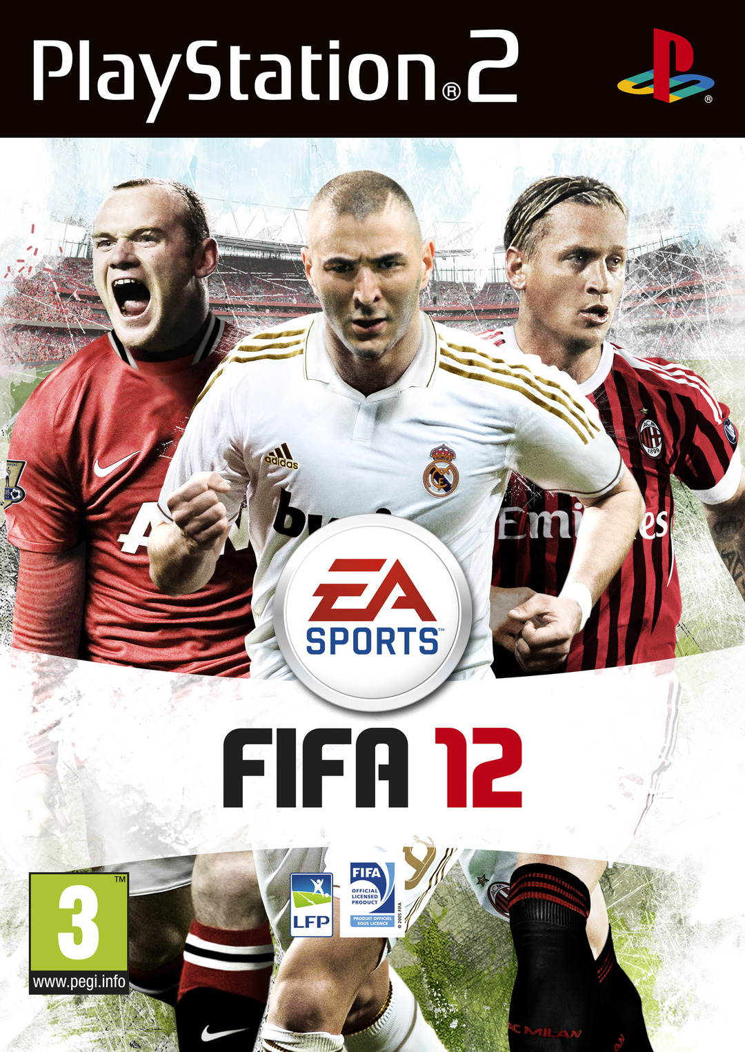 FIFA 12 PAL PS2DVD (exclue) [FS]