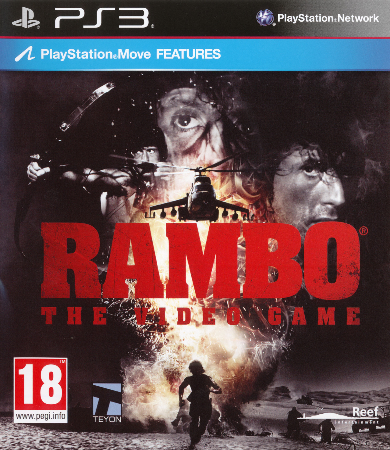 Rambo The Video Game Sur Playstation 3 Jeuxvideo Com