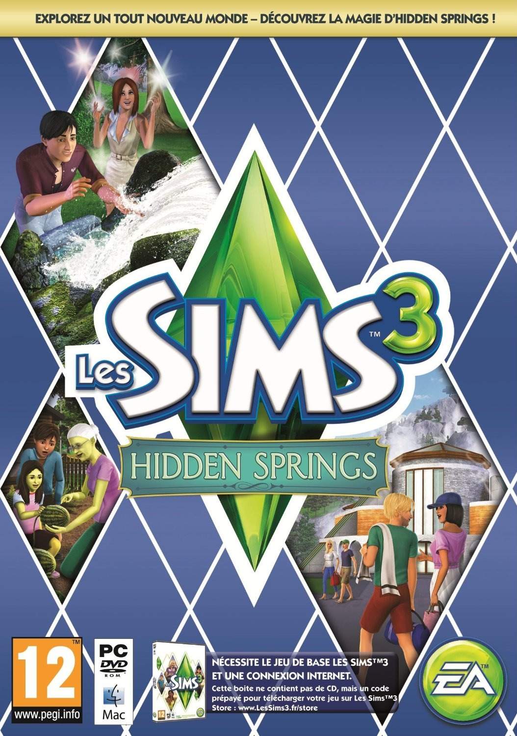 The Sims 3 Hidden Springs DLC [UL]