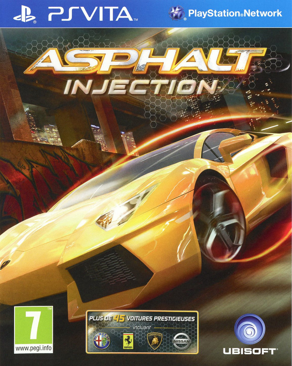 Images Asphalt Injection PlayStation Vita - 1