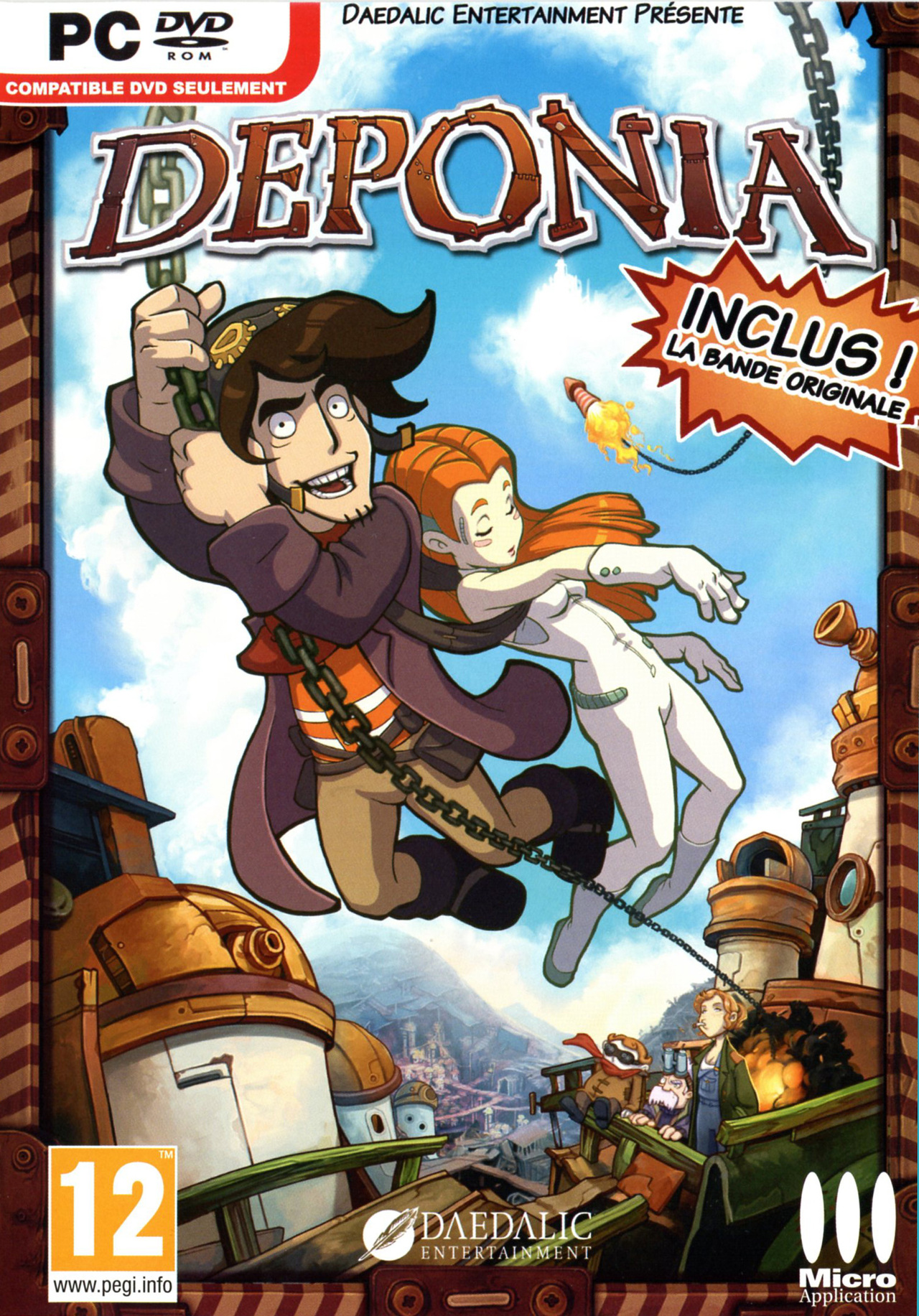 deponia sur pc. Black Bedroom Furniture Sets. Home Design Ideas