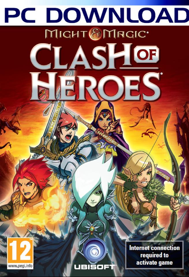 Might & Magic : Clash of Heroes + CRACK [PC | ISO] (Exclue) [FS]